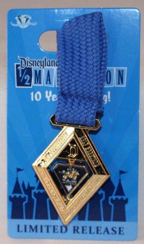 runDisney Disneyland 2015 Half Marathon Weekend Half Marathon Medal Pin Limited Release