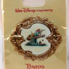Walt Disney Imagineering WDI Pirates of the Caribbean Concept Art Pin Pirate on Cannon Ltd Ed 250