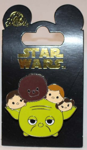 Disney Star Wars Tsum Tsum Pin Yoda Luke Han Leia