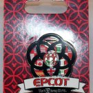 Walt Disney World Epcot Flags with 5-Ringed Logo Pin