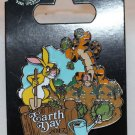Disney Earth Day 2017 Pin Winnie the Pooh's Rabbit and Tigger Limited Edition 2000