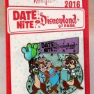 Date Nite at Disneyland Park 2016 Chip Dale Clarice Pin Limited Edition 1000