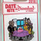 Date Nite at Disneyland Park 2016 Pluto and Fifi Stained Glass Pin Limited Edition 1000