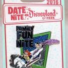 Date Nite at Disneyland Park 2016 Family Fun Nite Pin Goofy and Goofy Jr. Limited Edition 1000
