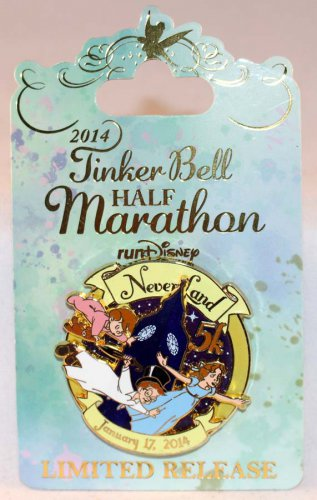 DLR runDisney 2014 Tinker Bell Half Marathon Weekend 5K Run Pin Limited Release