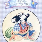 Designs by Gloria and Pat Moo Moo County Fair to Cross Stitch 10 Designs