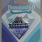 Disneyland 60th Anniversary Diamond Celebration Board Game Completer Pin Space Mountain L.E. 3000