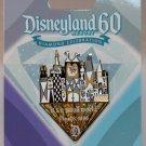 Disneyland 60th Anniversary Diamond Celebration Board Game Completer Pin Small World L.E. 3000