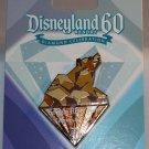 Disneyland 60th Anniversary Diamond Celebration Board Game Completer Pin Grizzly River Run L.E. 3000