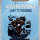 Disneyland runDisney 2015 Inaugural Star Wars Half Marathon Weekend Half Marathon Pin LtdRel