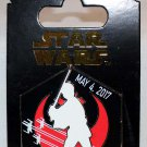 Disney Star Wars 2017 May the Fourth Be With You Pin Luke Skywalker Limited Release