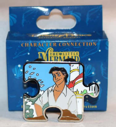 Disney Character Connection Little Mermaid Puzzle Piece Mystery Pin Prince Eric Limited Edition 900