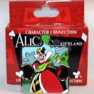 Disney Character Connection Alice in Wonderland Puzzle Piece Mystery Pin Queen of Hearts Ltd Ed 1100