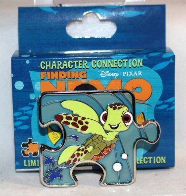 Disney Character Connection Finding Nemo Puzzle Piece Mystery Pin Squirt Limited Edition 900