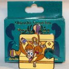 Disney Character Connection Aladdin Puzzle Piece Mystery Pin Abu Limited Edition 1100