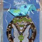 Disneyland runDisney Tinker Bell Half Marathon Weekend 2017 Pixie Dust Challenge Ribbon Medal Pin