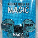runDisney 2017 Every Mile Is Magic Slider Pin Mickey Mouse