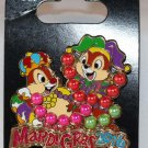 Disney Mardi Gras 2016 Pin Chip and Dale Limited Edition 2000