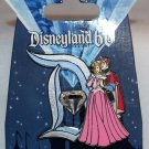 Disneyland 60th Anniversary Diamond D Pin of the Month Aurora and Phillip Limited Edition 3000