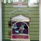 Disneyland Funny Businees Pin Minnie Mouse Limited Edition 1000