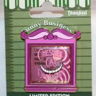 Disneyland Funny Businees Pin Cheshire Cat Limited Edition 1000