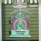 Disneyland Funny Businees Pin Alice in Wonderland Limited Edition 1000