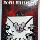 Disneyland Movie Milestones Pin Steamboat Willie LImited Edition 2000