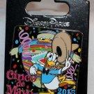 Disney Cinco De Mayo 2015 Pin Donald Duck Limited Edition 2500