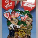Disney 4th of July 2015 Pin Up's Carl and Ellie Limited Edition 3500