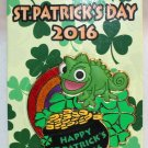 Disney Happy St. Patrick's Day 2016 Pin Tangled's Pascal Limited Edition of 5000