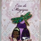 Disney Eau de Magique Perfume Bottle September 2014 Pin of the Month Tiana LImited Edition 2000