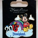 Disneyland 2013 Mickey Mouse Rainbow Pin Limited Edition 1000
