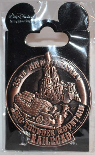 Walt Disney Imagineering WDI Big Thunder Railroad 35th Anniversary Pin Limited Edition 250