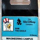 Walt Disney Imagineering WDI Campus I.D. Badge Pin Sam the Eagle Limited Edition 200