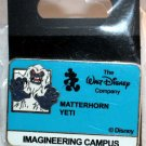 Walt Disney Imagineering WDI Campus I.D. Badge Pin Matterhorn Yeti Limited Edition 200