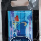 Walt Disney Imagineering WDI 2011 D23 Expo Carousel of Projects Blue Pin Limited Edition 300