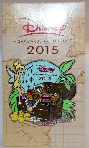 Disney Rewards 2015 Chase Visa Cardmember Pin Tinker Bell