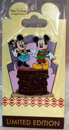 Walt Disney Imagineering WDI Attraction Rewind Polynesian Resort Pin Mickey and Minnie Ltd Ed 250