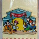 Walt Disney Imagineering WDI Attraction Rewind Polynesian Resort Pin Mickey Pluto Goofy L.E. 250
