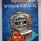 Disneyland Pin of the Month 2013 Window to the Magic Finding Nemo Limted Edition 1000