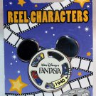 Disneyland Reel Characters Pin Fantasia Limited Edition 1000