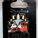 Disneyland Buena Vista Street 1st Anniversary Pin Mickey Mouse Limited Edition 1000