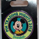 Disneyland Pin Trading Nights 2013 Mickey Mouse Limited Edition 750