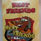 Disney Best Friends 2-Pin Set Cars' Tow Mater and Lightning McQueen Limited Edition 3000