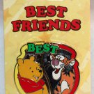 Disney Best Friends 2-Pin Set Winnie the Pooh and Tigger Limited Edition 3000