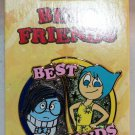 Disney Best Friends 2-Pin Set Inside Out's Joy and Sadness Limited Edition 3000