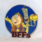 Disney BFFs Mystery Pin Collection Cogsworth and Lumiere