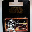 Disney Star Wars The Force Awakens Countdown Pin No. 8 Flametrooper Limited Edition 10000
