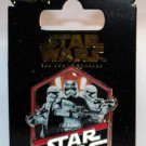 Disney Star Wars The Force Awakens Countdown Pin No. 9 Captain Phasma Limited Edition 10000