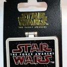Disney Star Wars The Force Awakens Hinged Pin Sidon Ithano Limited Edition 10000